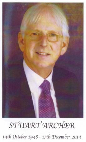 ARCHER Stuart Died 17-Dec-2014
